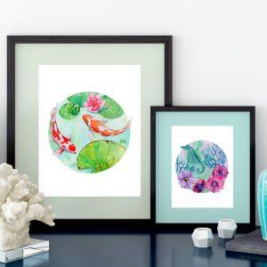 Aquarelles originales