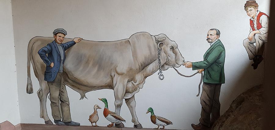 Le célèbre taureau