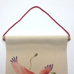 Bambou - cordon rouge