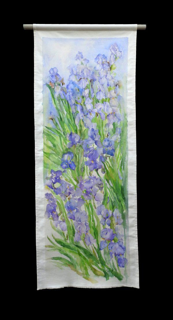 Cascade d'Iris kakémono