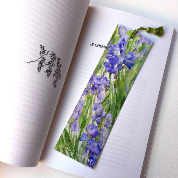 """vMarque page """"Cascade d'iris"""""""