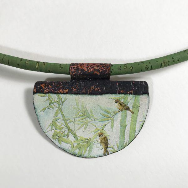 Pendentif-moineaux-bambou