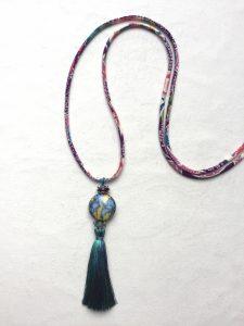 Sautoir perle iris